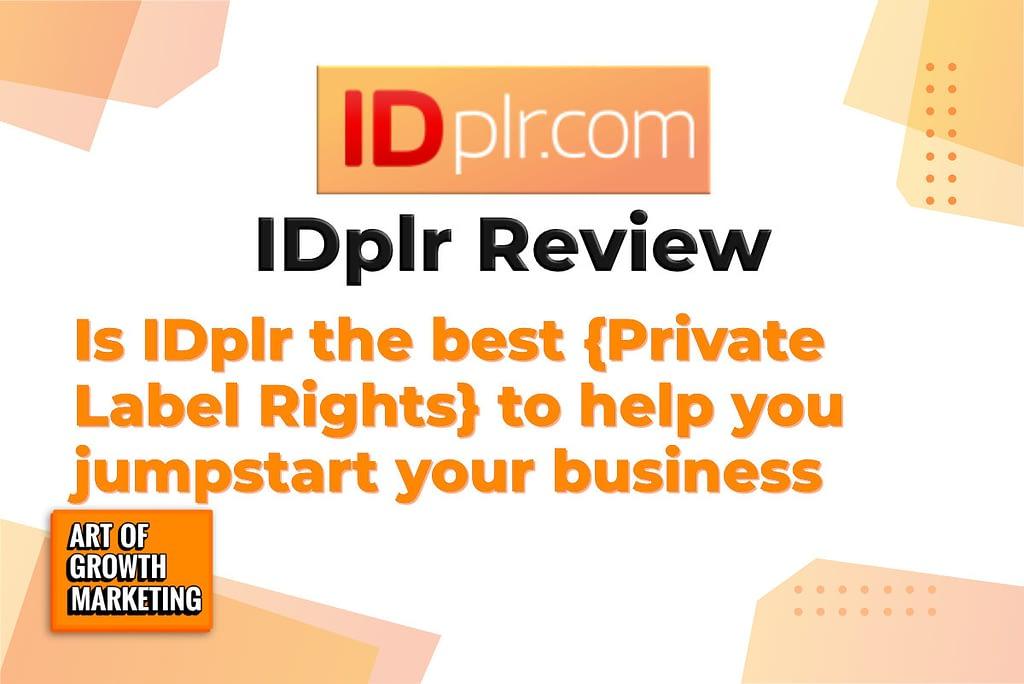idplr.com logo review screenshot