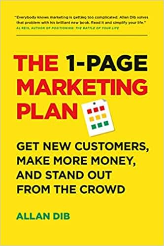 business the 1-page marketing plan