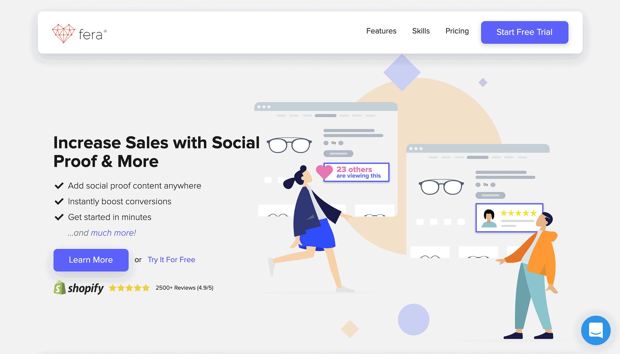 best social proof software fera