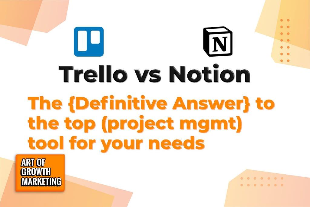 trello vs notion logo images