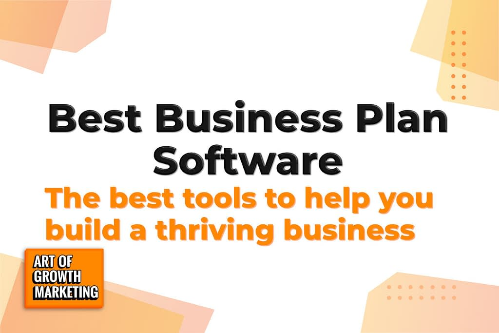 business plan software image