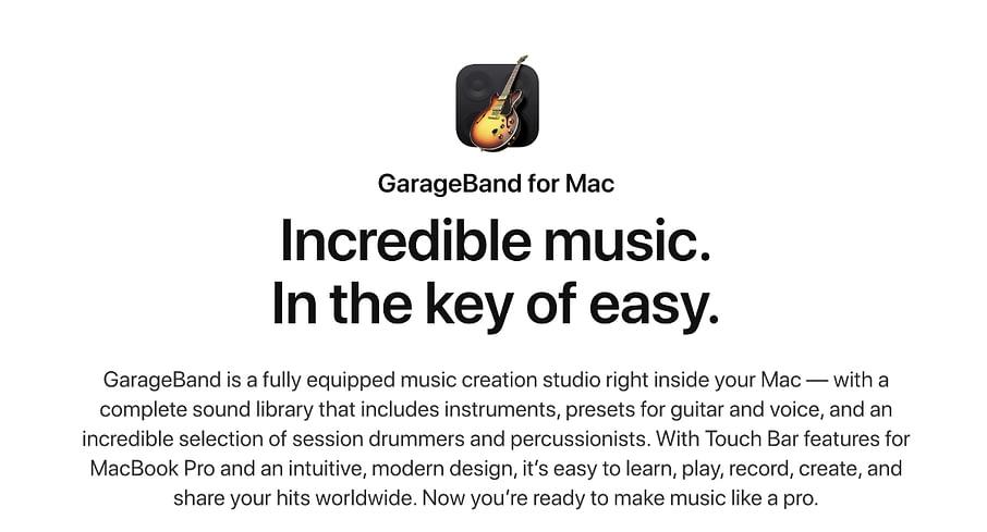 garageband website podcast image