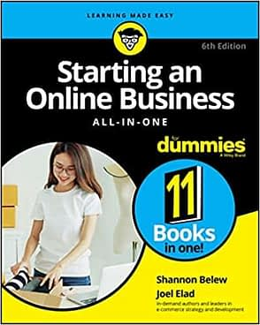 sales and marketing starting an online business all-in-one for dummies
