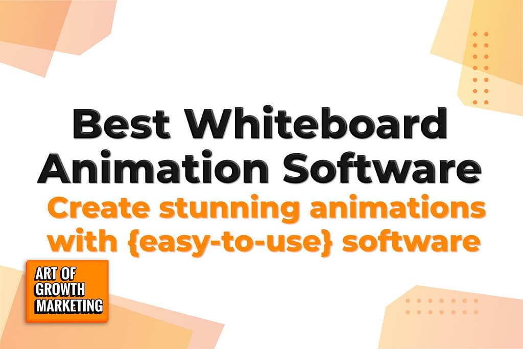 whiteboard software animation list