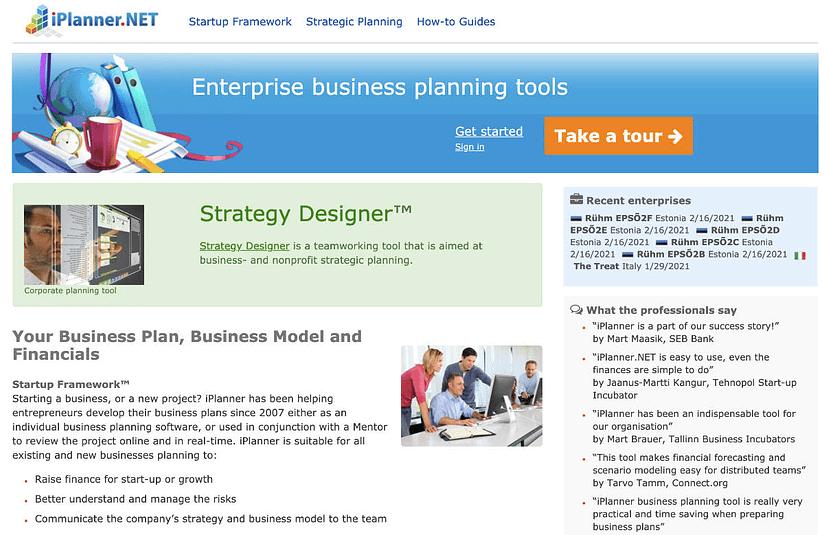 iplanner business software