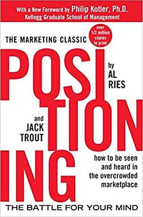 Ries Trout Marketing Book Positioning Battle for your mind book cover