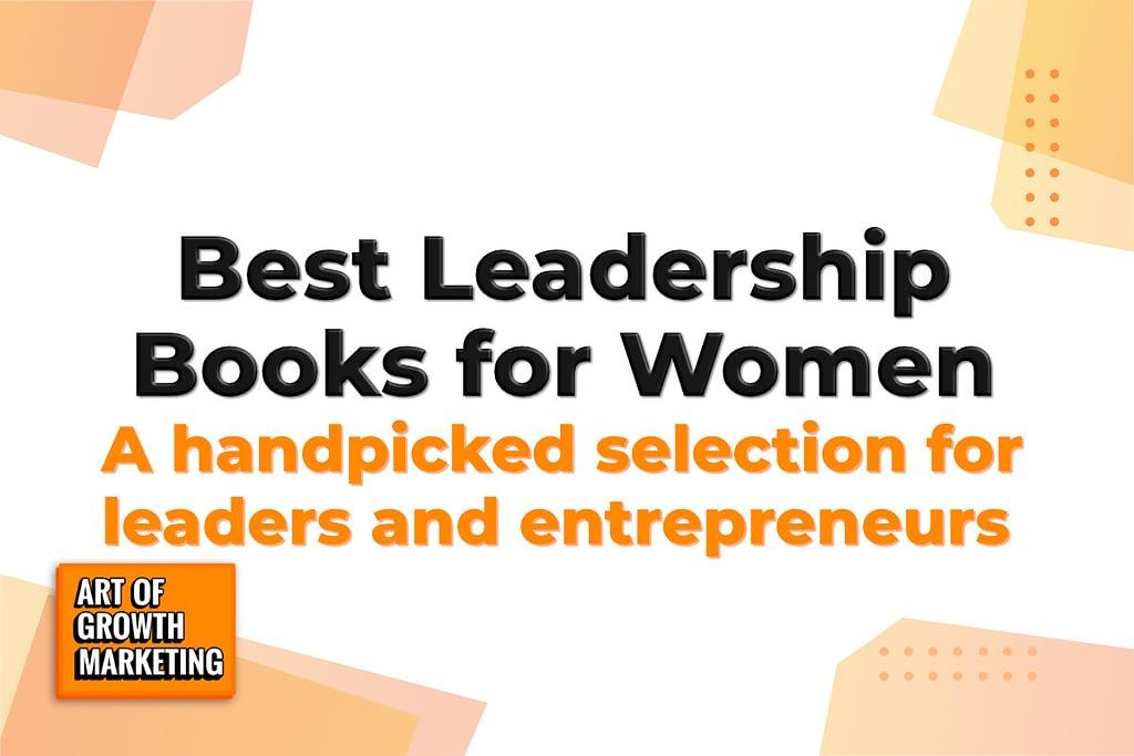 leadership books for women