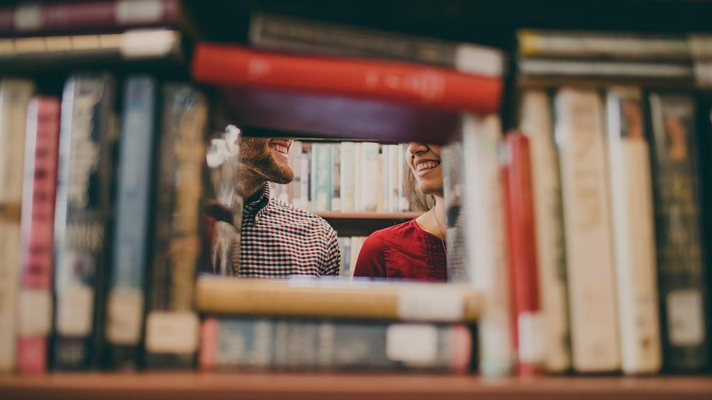 marketing books bookshelf image