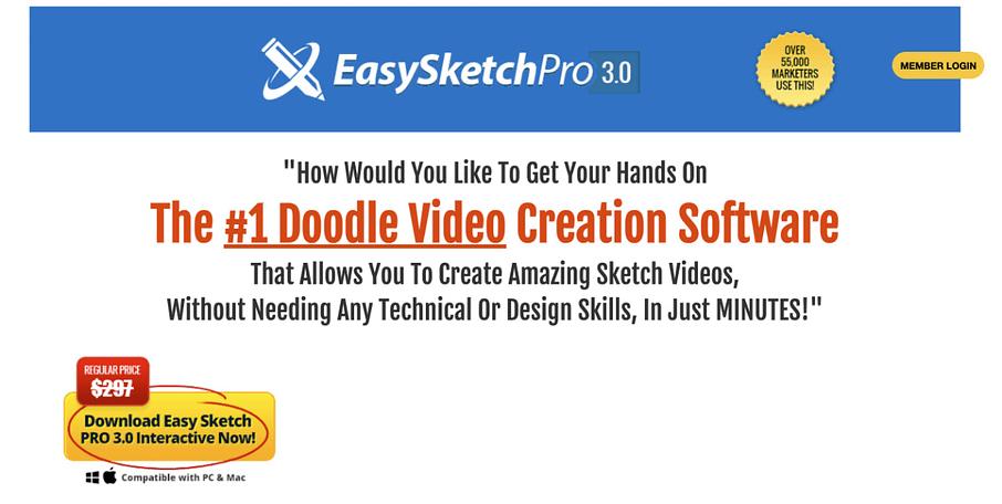 easysketchpro doodle creator