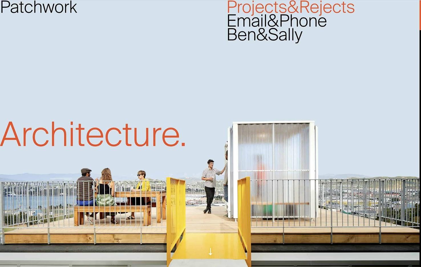 best architect website patchwork architecture