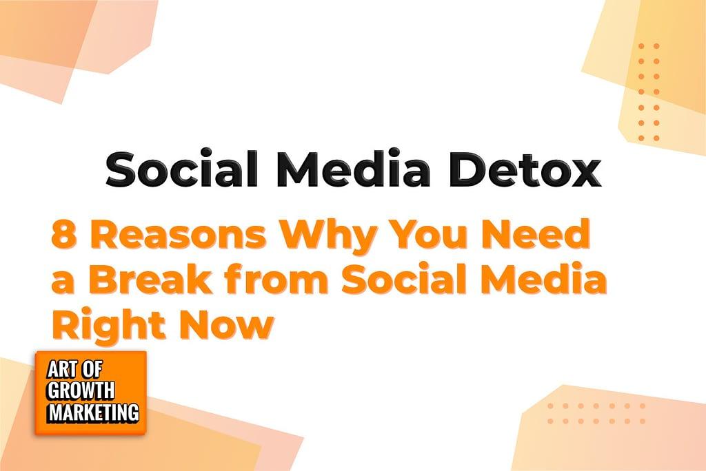 social media detox mobile phone